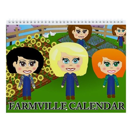 Farmville Calendar Wall Calendar