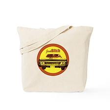 Orange Jerk/Bitch Tote Bag