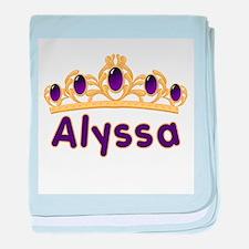 Princess Tiara Alyssa Persona baby blanket