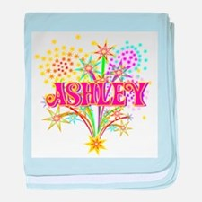 Sparkle Celebration Ashley baby blanket