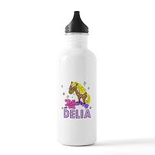 I Dream Of Ponies Delia Water Bottle