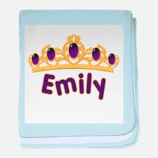 Princess Tiara Emily Personal baby blanket