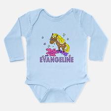 I Dream Of Ponies Evangeline Long Sleeve Infant Bo