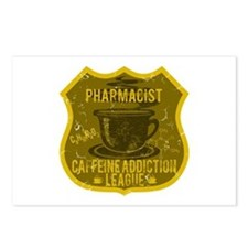 Pharmacist Caffeine Addiction Postcards (Package o