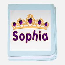 Princess Tiara Sophia Persona baby blanket