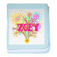 Sparkle Celebration Zoey baby blanket