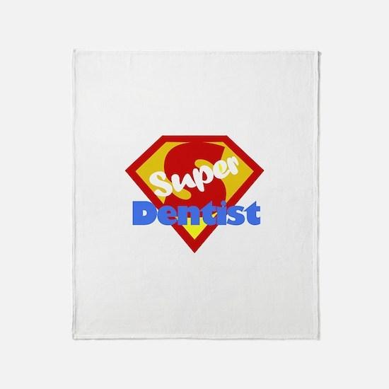Super Dentist DDS Throw Blanket