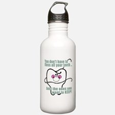 Keep Flossing! Dentist Water Bottle