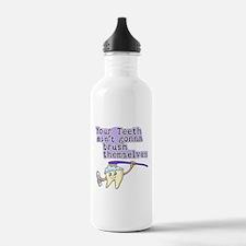 Aint Gonna Brush Themselves Water Bottle