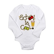 SCHOOL is COOL! Long Sleeve Infant Bodysuit