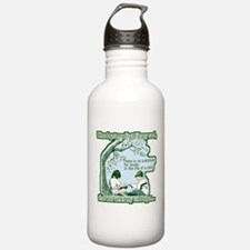 No Substitute For Books Water Bottle