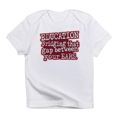 Education, Bridging That GAP Infant T-Shirt