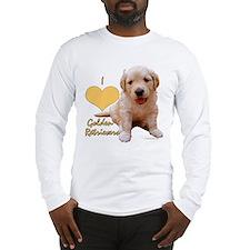 """""""I Love Golden Retrievers"""" Puppy T-Shirt"""