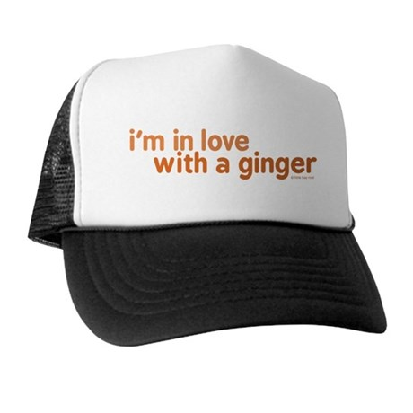 I'm in Love with a Ginger Trucker Hat