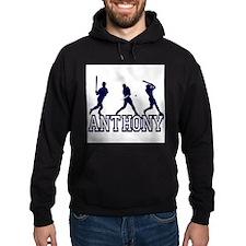 Baseball Anthony Personalized Hoodie