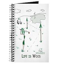 Life is Wood Journal-Golfer Gal