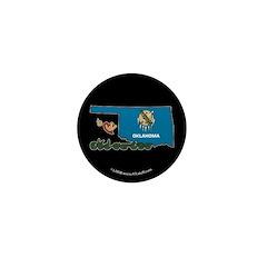 ILY Oklahoma Mini Button (10 pack)