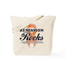 Leukemia Remission Rocks Tote Bag