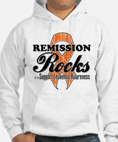 Leukemia Remission Rocks Hoodie Sweatshirt