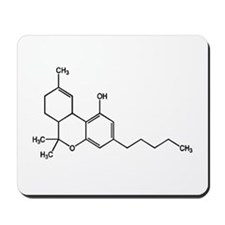 thc chemistry Mousepad