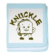 Knuckle Sandwich! baby blanket