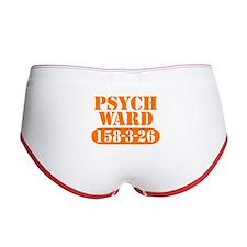 Psych Ward - Orange Women's Boy Brief