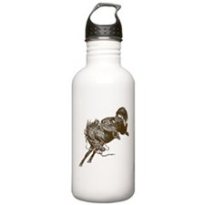 Bucking Bronco Western Water Bottle