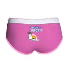 I MELTED FROSTY! Women's Boy Brief