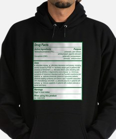 THC Drug Facts Hoody
