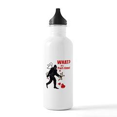 Part-time Cupid Bigfoot Valen Water Bottle