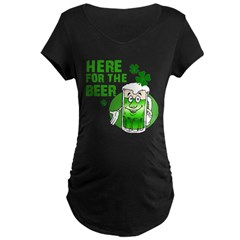 HERE FOR THE BEER St. Patrick T-Shirt