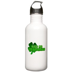 Kiss Me I'm Drunkish Water Bottle