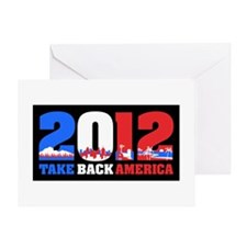 Take Back America 2012 Greeting Card