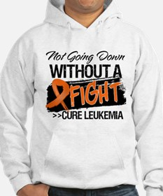 Not Going Down Leukemia Hoodie Sweatshirt