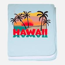 Hawaiian / Hawaii Souvenir baby blanket