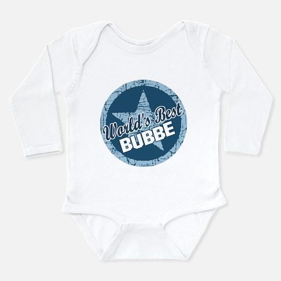 Worlds Best Bubbe Long Sleeve Infant Bodysuit