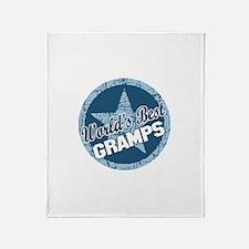 Worlds Best Gramps Throw Blanket