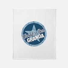 Worlds Best Granda Throw Blanket