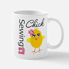 Sewing Chick Mug