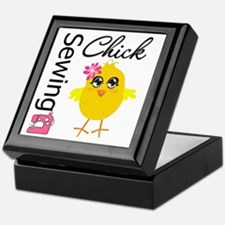 Sewing Chick Keepsake Box