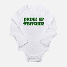 Drink up this Saint Patrick's Long Sleeve Infant B