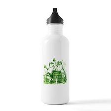Drunk Frogs St Patricks Day Water Bottle