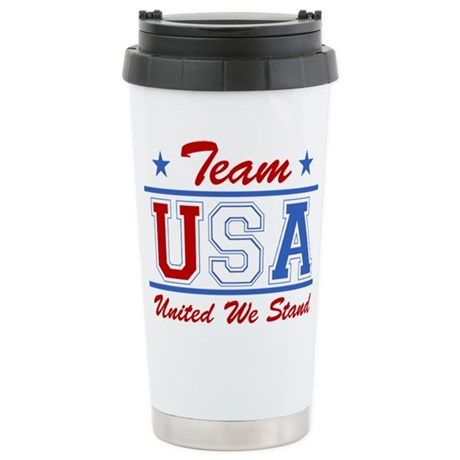 TEAM USA United We Stand Stainless Steel Travel Mu