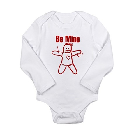 Be Mine Possesive Sarcasm Val Long Sleeve Infant B