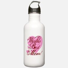 Mother's Day Worlds Best Mom Water Bottle