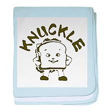 Knuckle Sandwich! baby blanket
