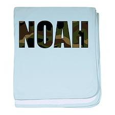 Camo Noah baby blanket