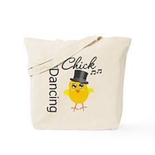 Tap Dancing Chick Tote Bag