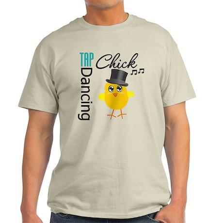 Tap Dancing Chick Light T-Shirt