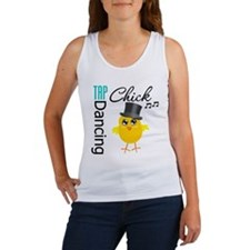 Tap Dancing Chick Women's Tank Top